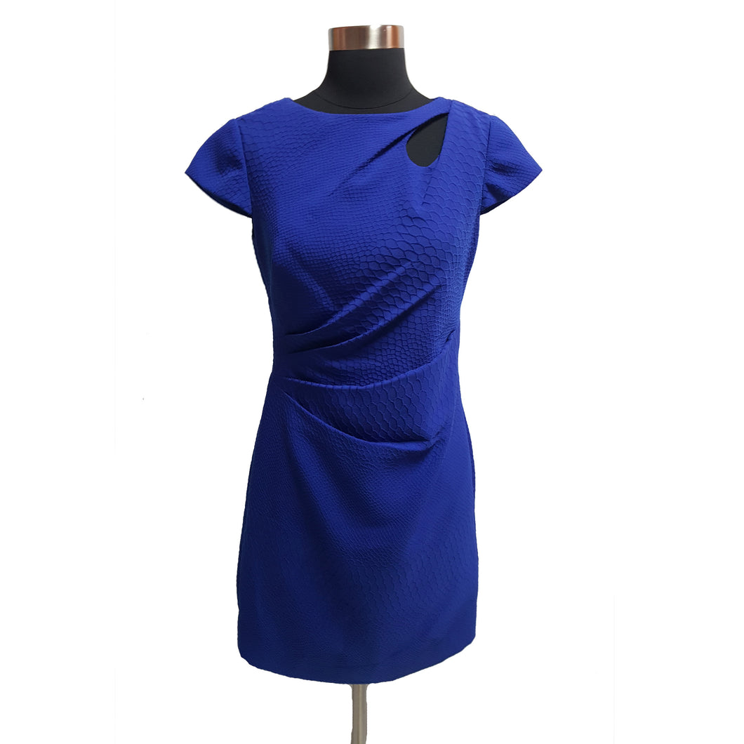 Kay Unger Ruche Dress