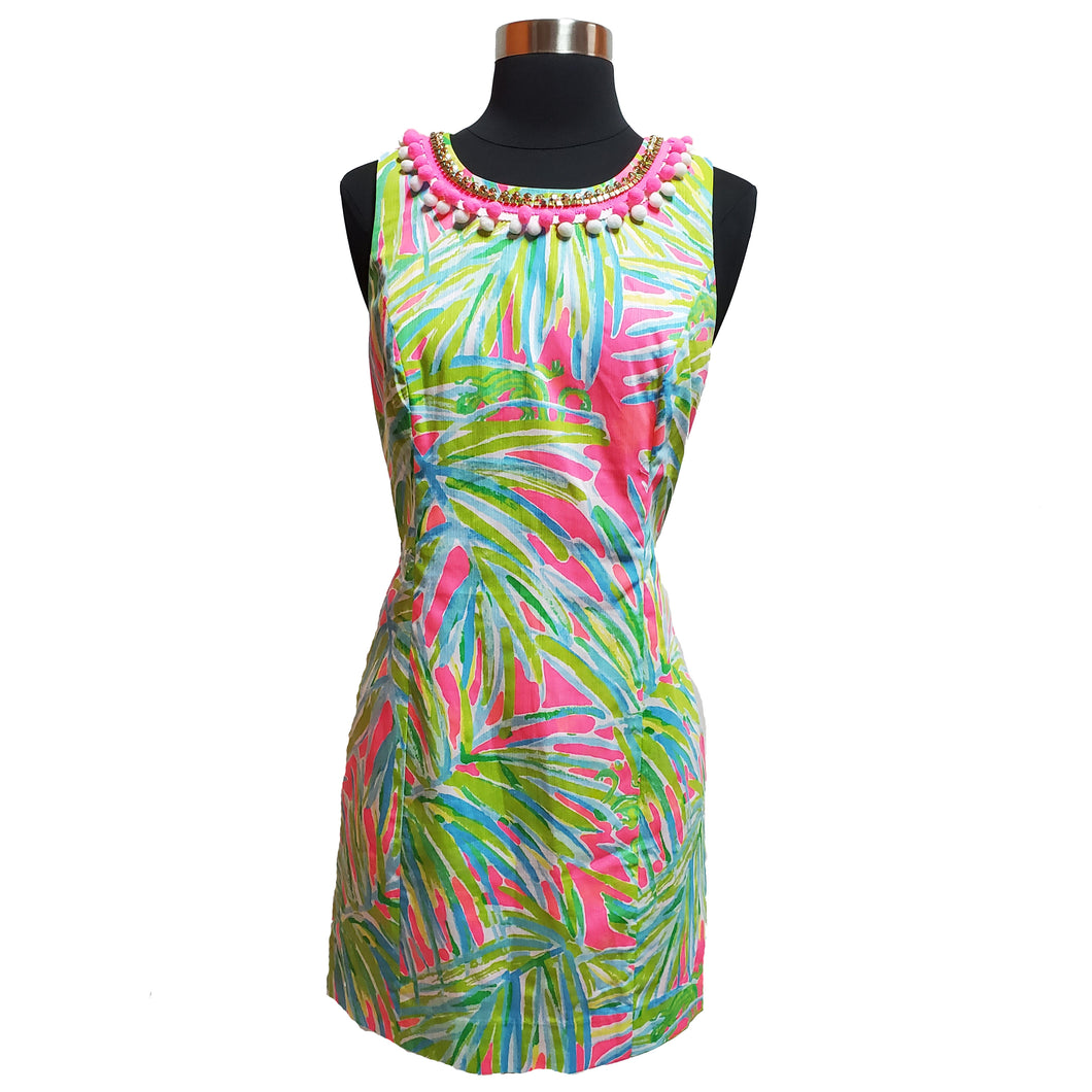 Lilly Pulitzer Palm Leaf Dress