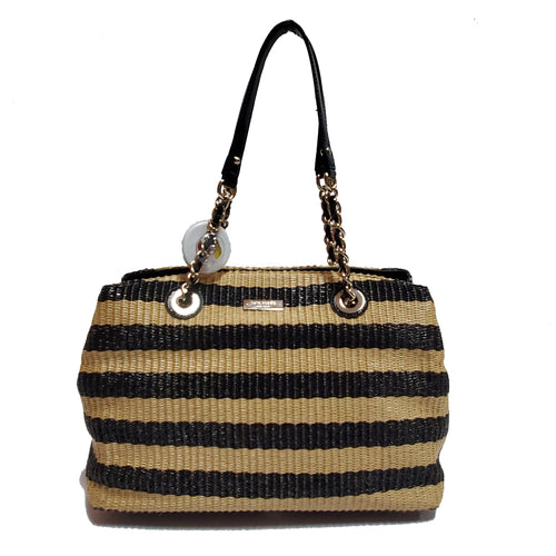Kate Spade Stripe Straw Purse