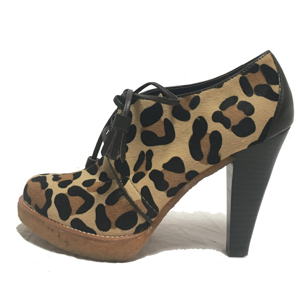 Coach Leopard Booties