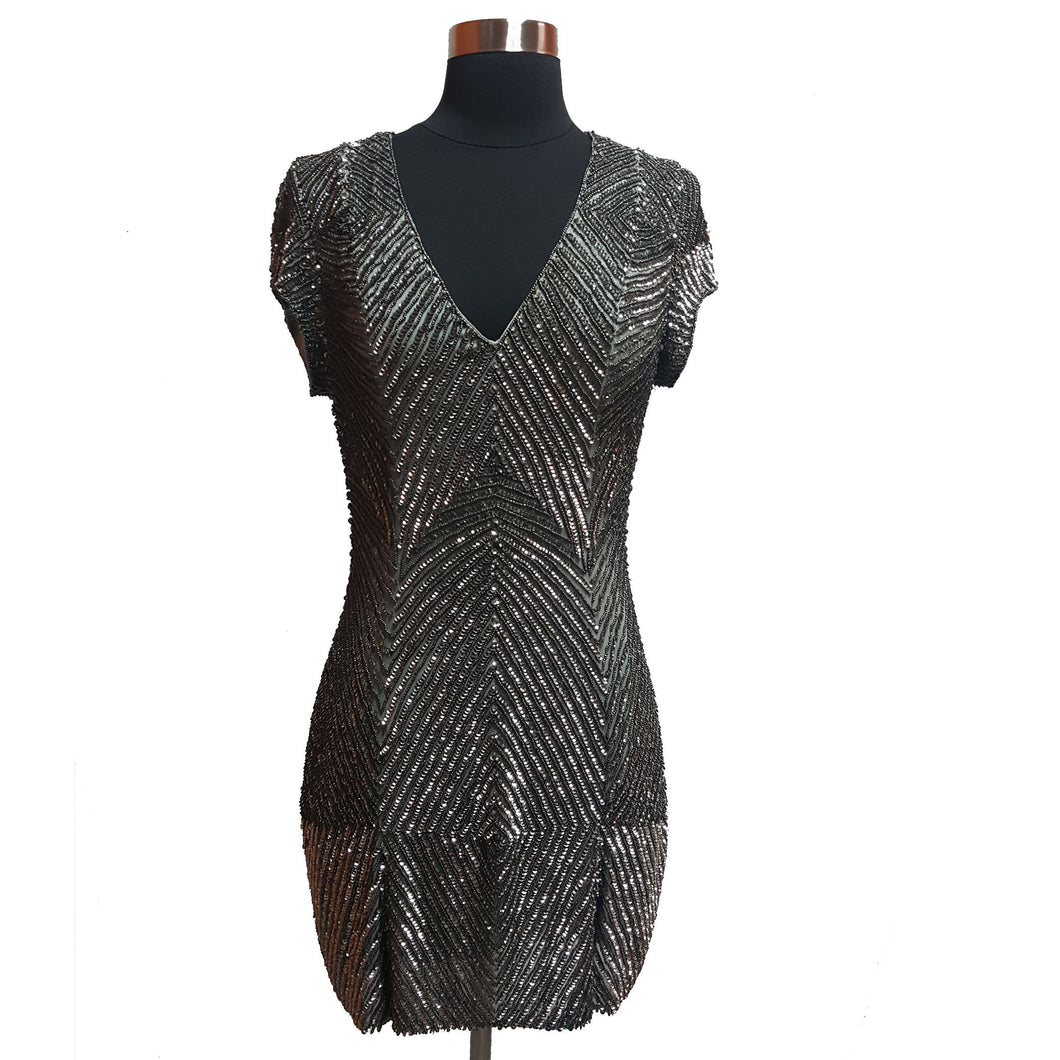 Parker Sequin and Bead Dress