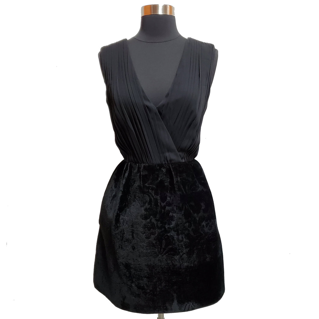 Alice & Olivia Velvet Bottom Dress