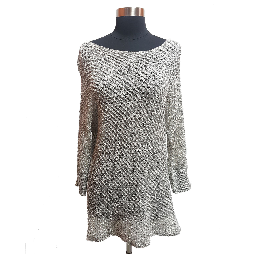 Alice & Olivia Metallic Sweater