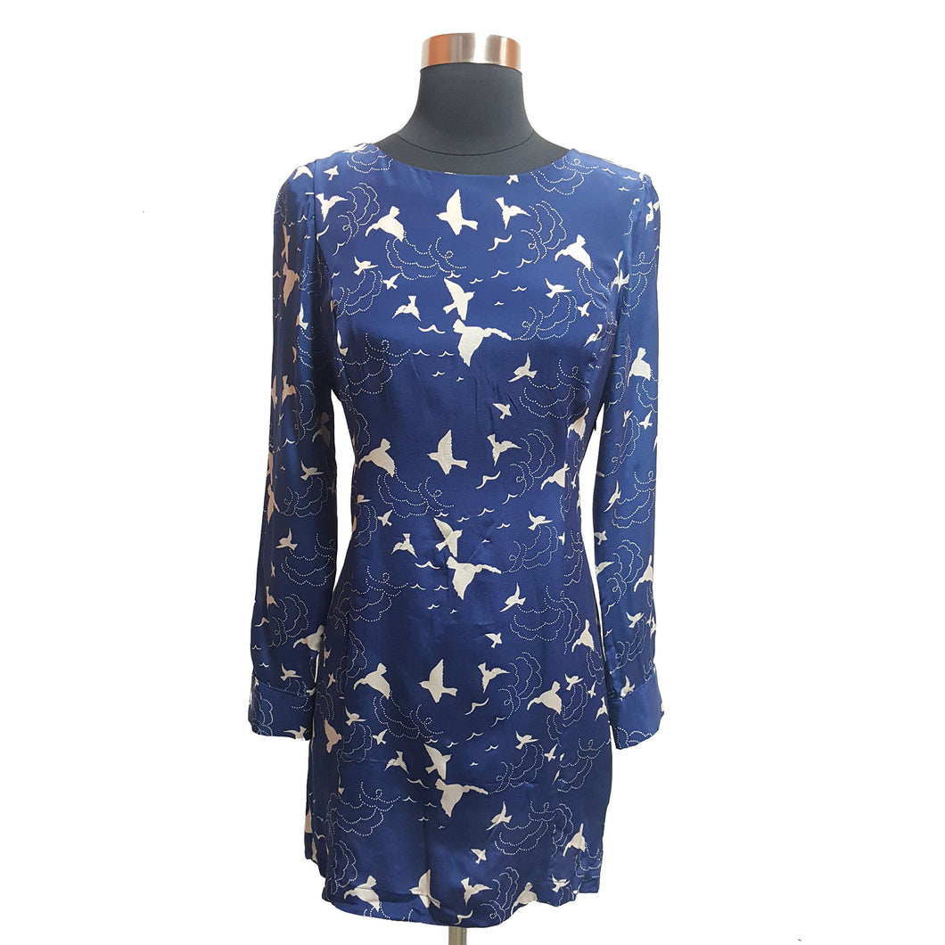 Akiko Bird Pattern Dress