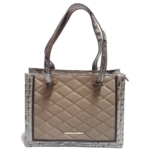 Brahmin Metallic  Texture Bag