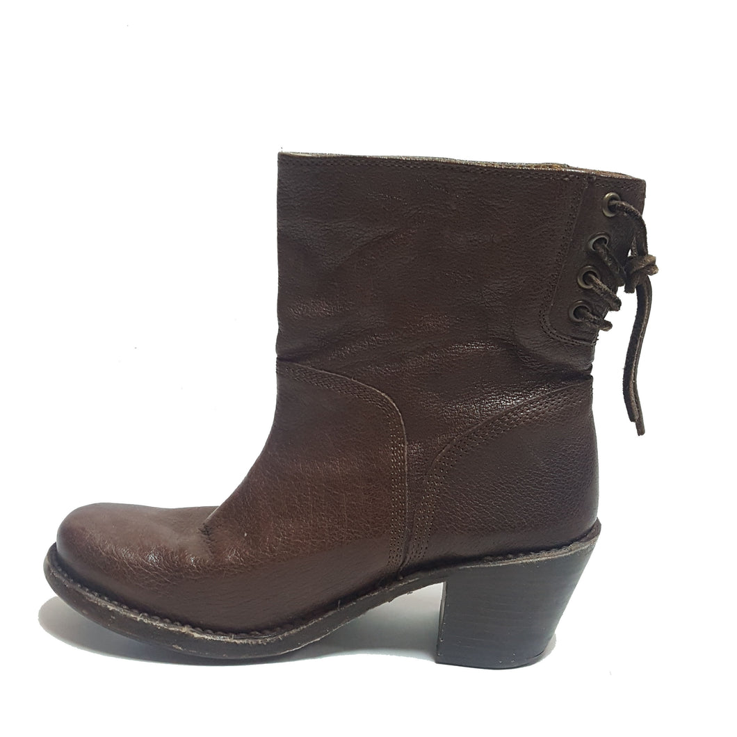Frye Lace Up Bootie