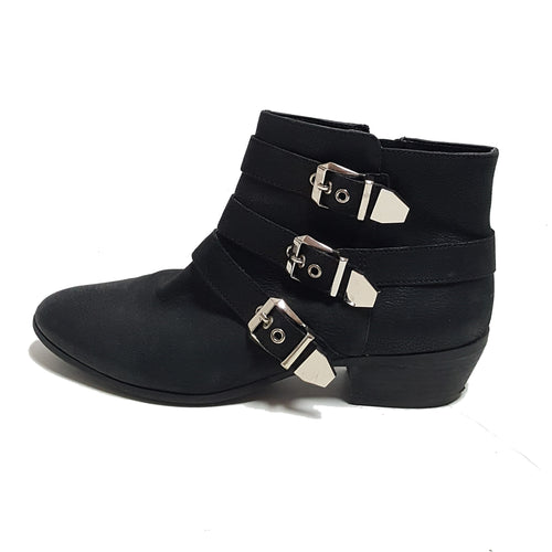 Gianni Bini Buckle Ankle Boots