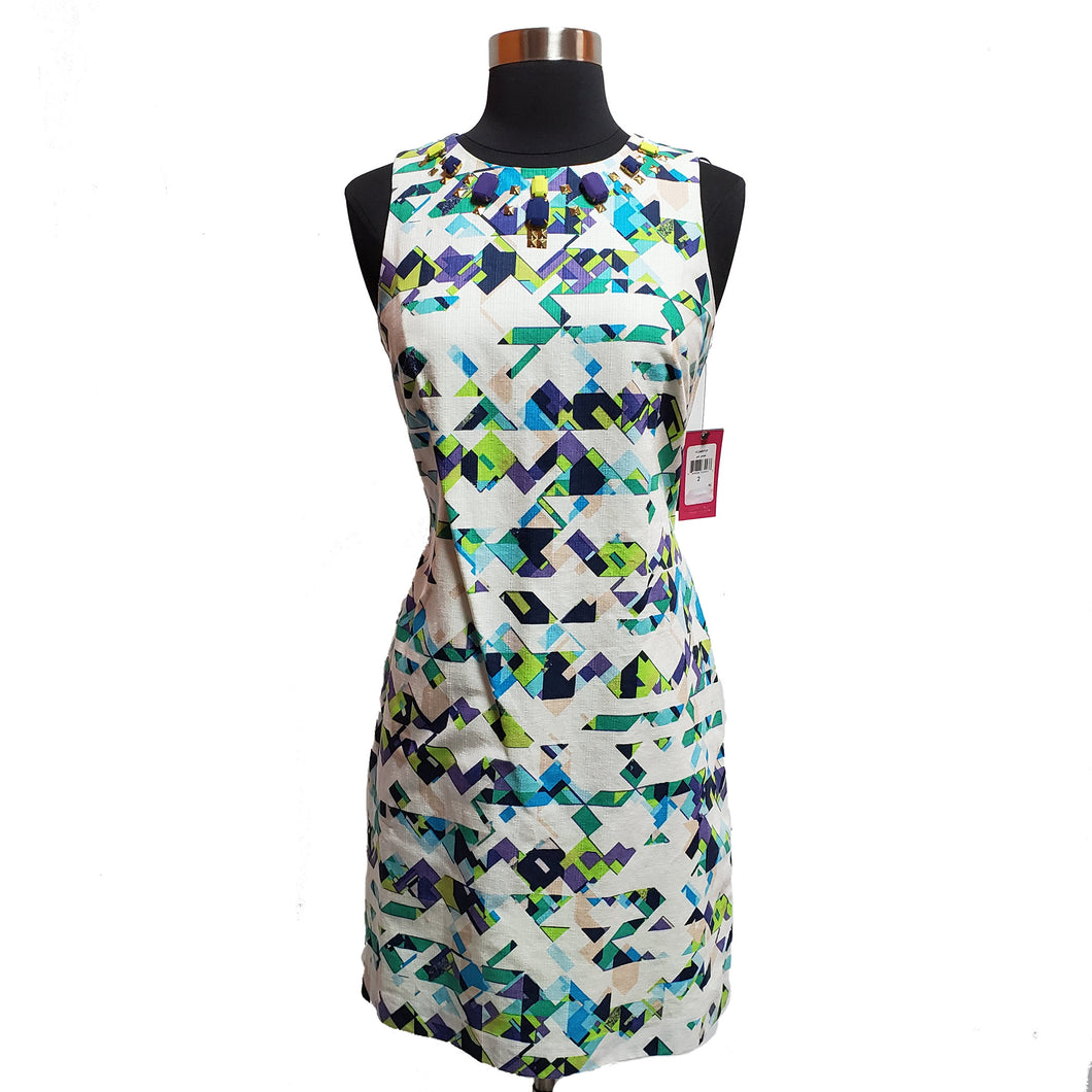 Vince Camuto Geometric Dress