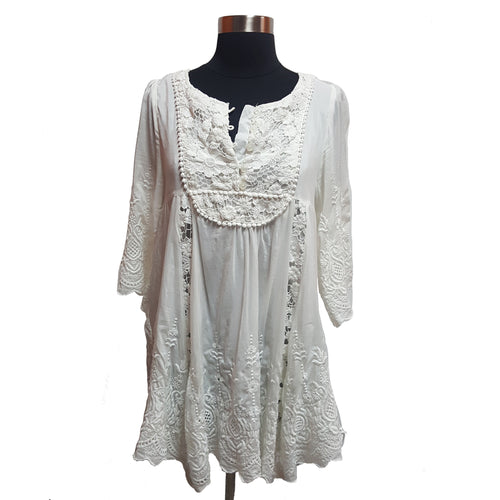 Gracia Fashion Embroidered Tunic