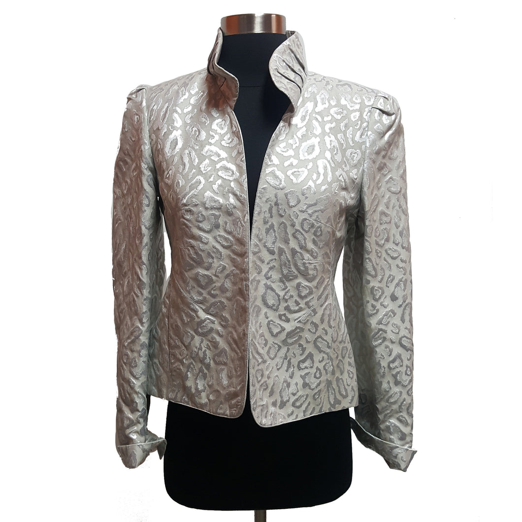 Nina McLemore Metallic Jacket