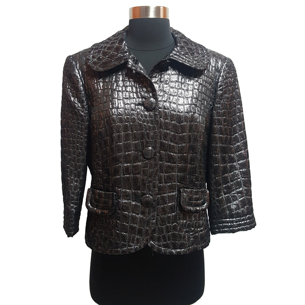 Trina Turk Metallic Jacket