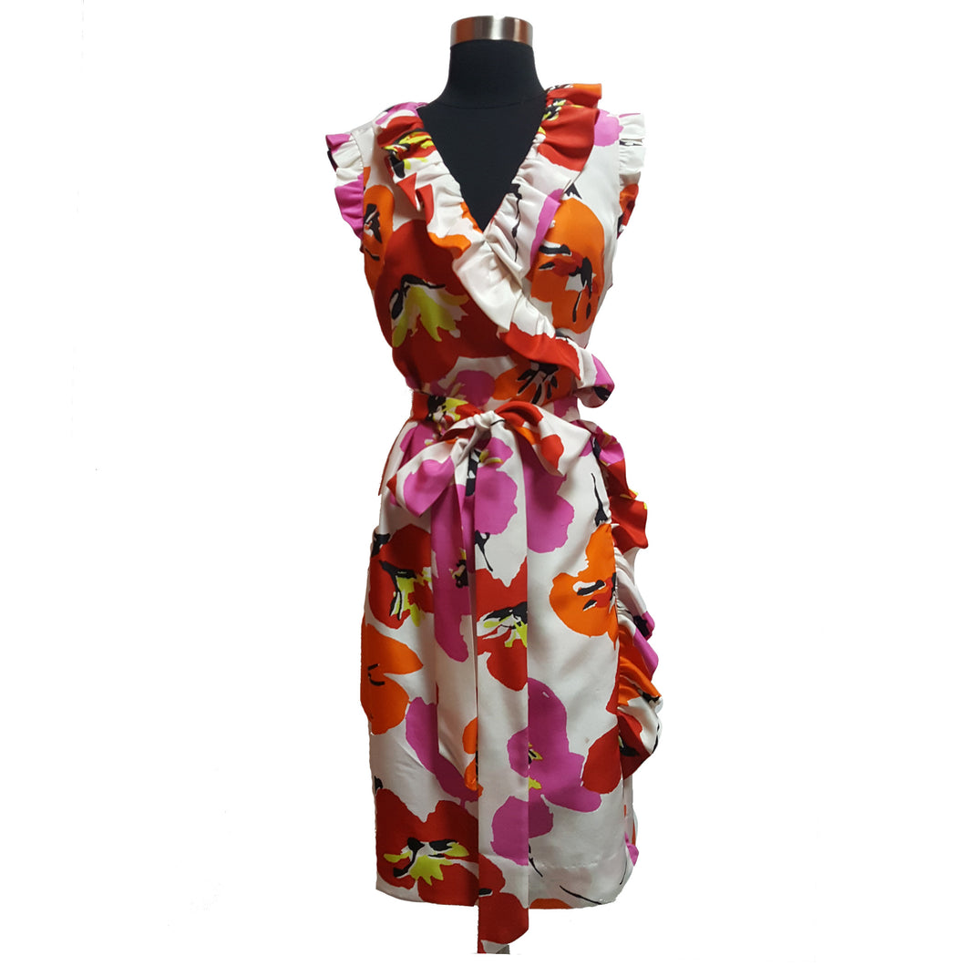 Kate Spade Floral Wrap Dress