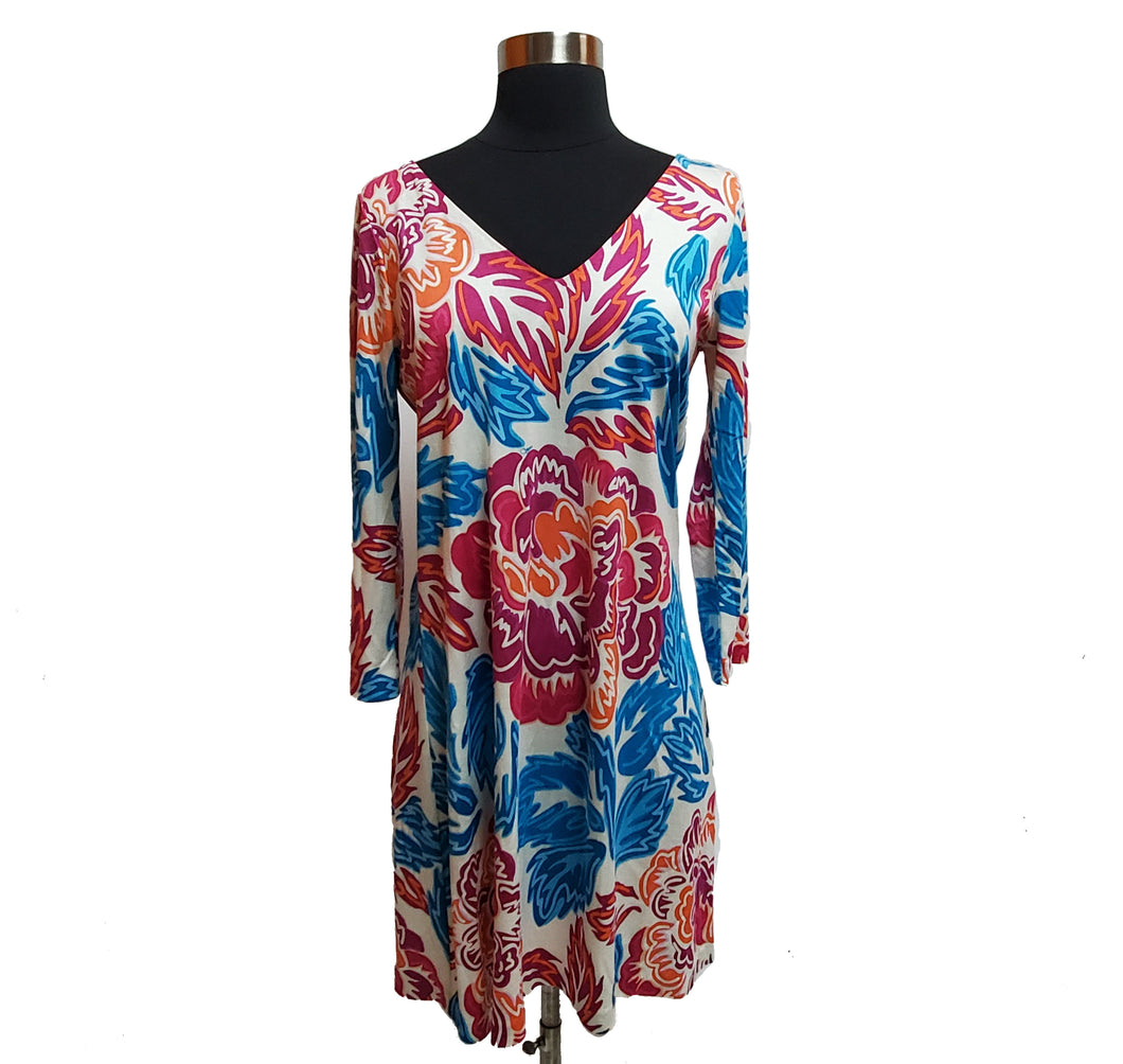 Diane Von Furstenberg Floral Dress