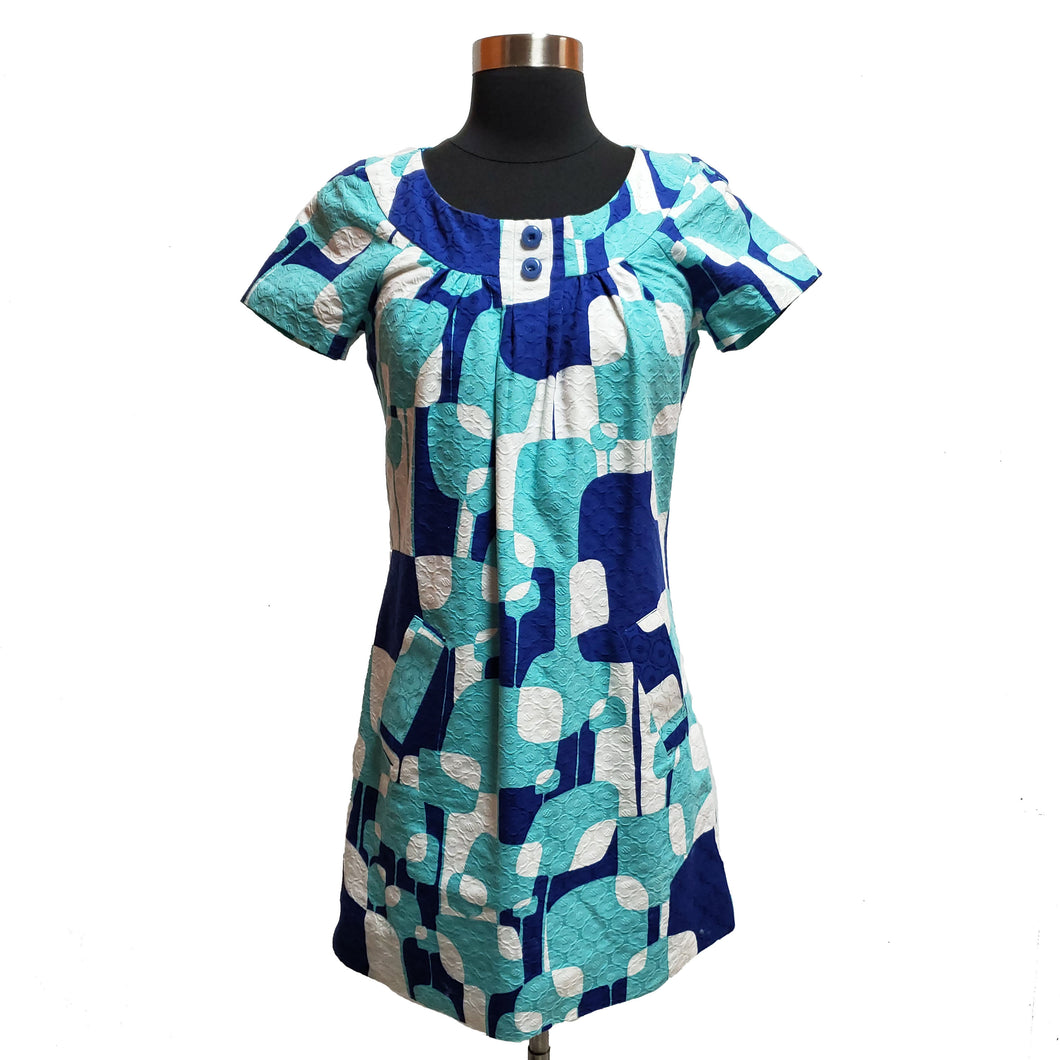 Trina Turk Texture Patterned Dress