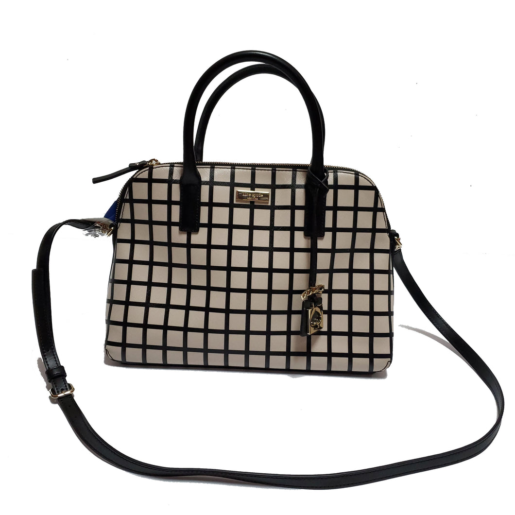 Kate Spade Checkered Pattern Purse