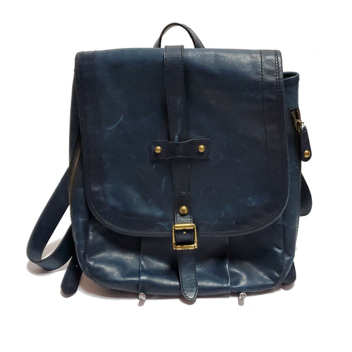Frye Distressed Leather Backpack Purse