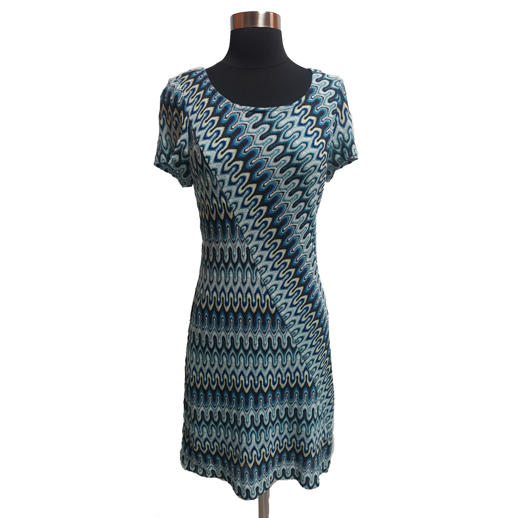 Trina Turk Knit Pattern Dress