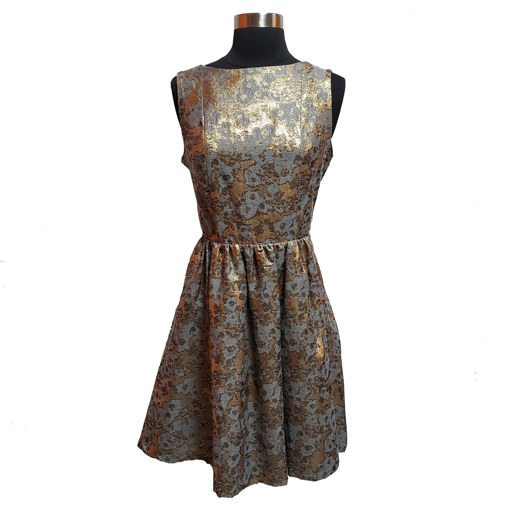 Cynthia Rowley Metallic Dress