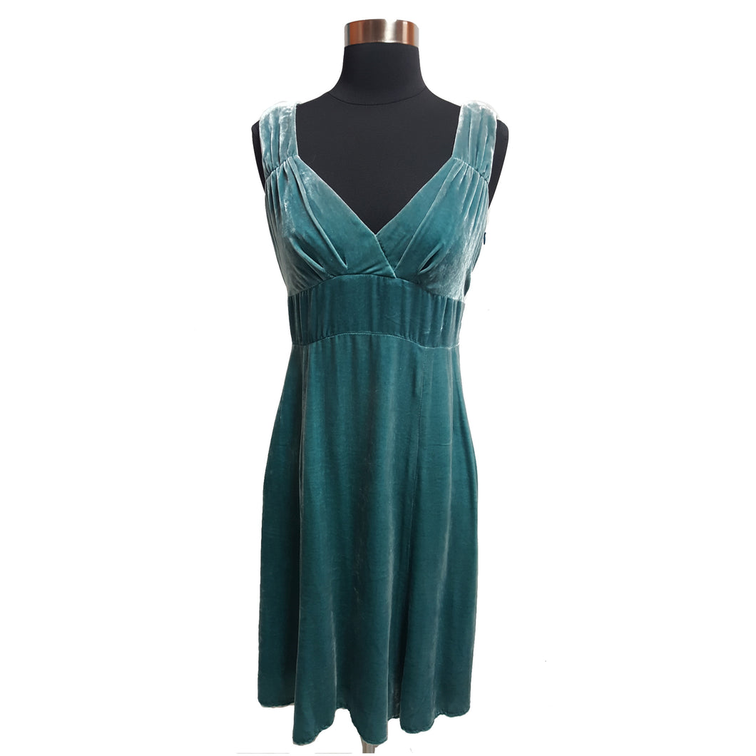 Nanette Lepore from Anthropologie Velvet Sleeveless Dress