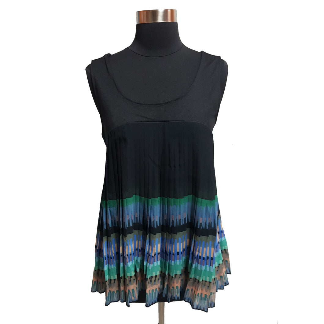 Deletta from Anthropologie Pleated Top