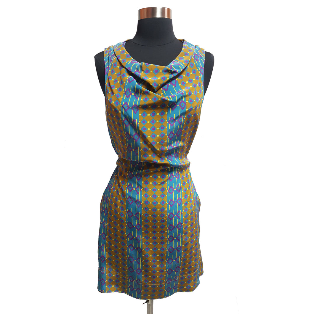 Marc by Marc Jacobs Pattern Tie Dress