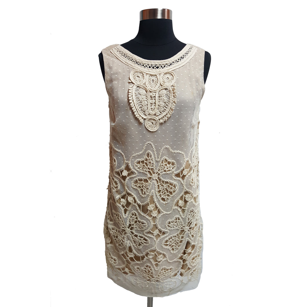 Corey Lynn Calter From Anthropologie Sleeveless Lace Dress