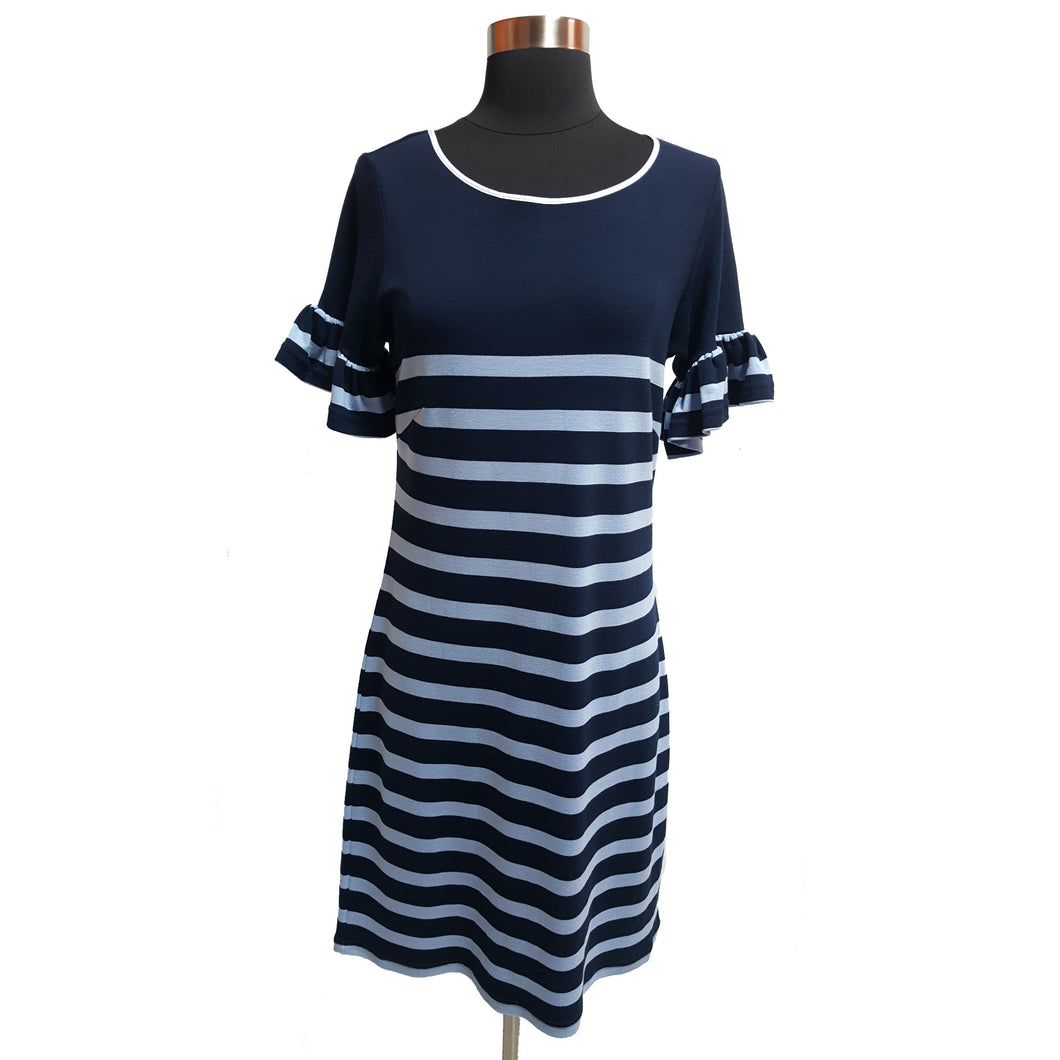 Sail to Sable Striped Dress