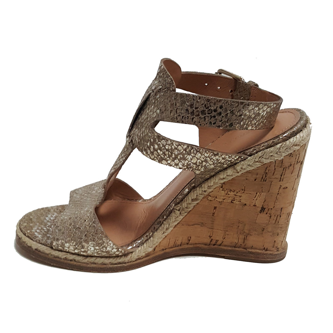Sigerson Morrison Texture Wedge