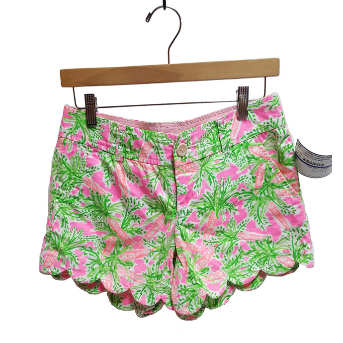 Lilly Pulitzer Carrot Pattern Shorts