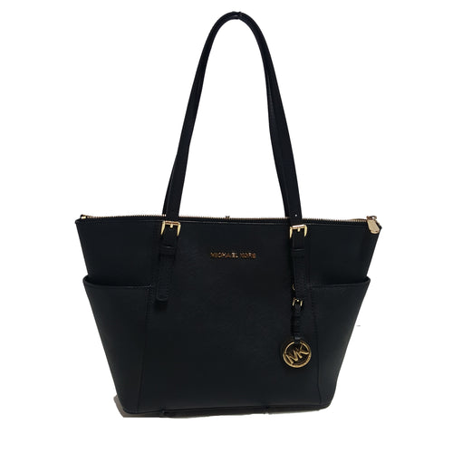 Michael Michael Kors Jet Set Travel Saffiano Leather Zip Tote