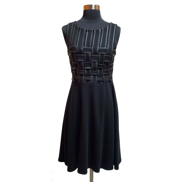 Bailey 44 Leather Detail Dress