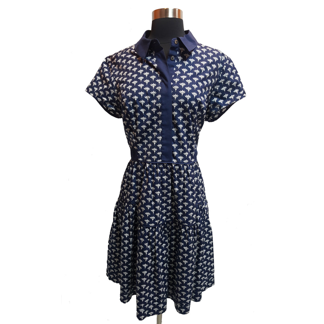 Diane Von Furstenberg Button Dress