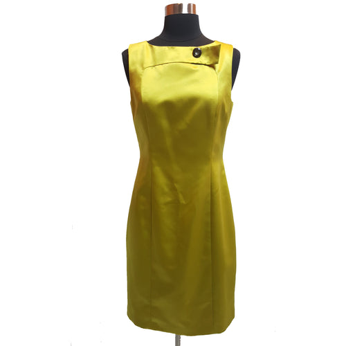 David Meister Silky Sleeveless Dress
