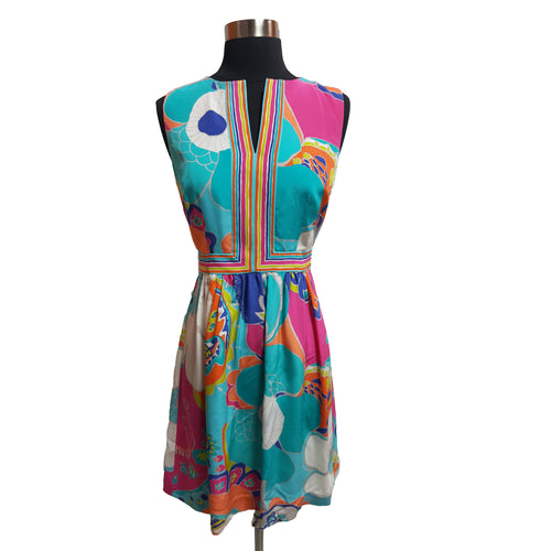 Trina Turk Silk Patterned Dress