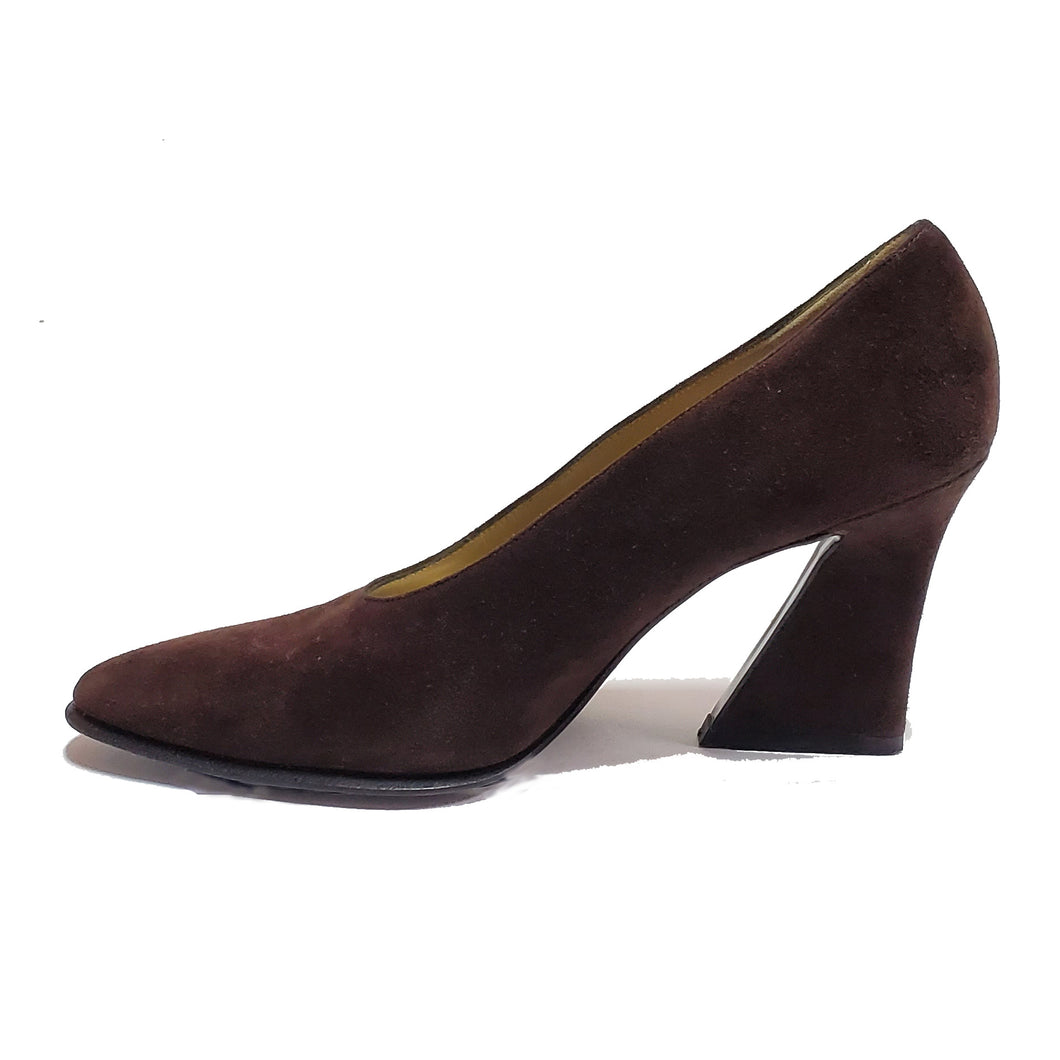 Yves St Laurent Suede Pumps