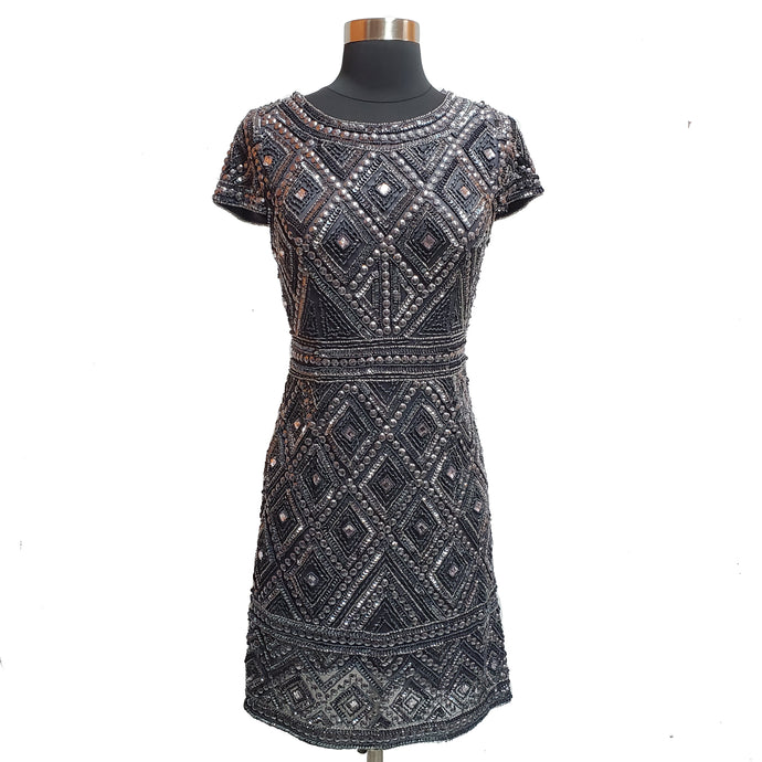 Adrianna Papell Sequin and Beads Dress