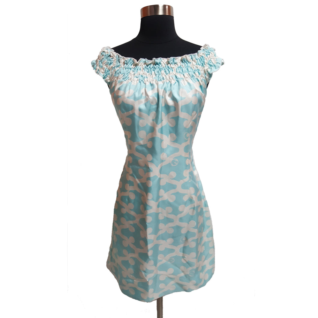 CK Bradley Silk Pattern Dress