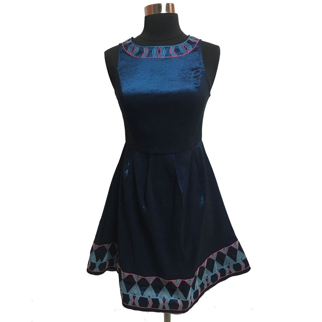 Liza Byrd Embroidered Dress