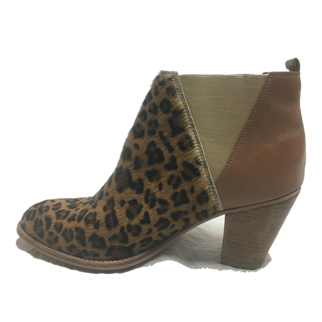 Charles by Charles David Pony Hair & Leather Booties