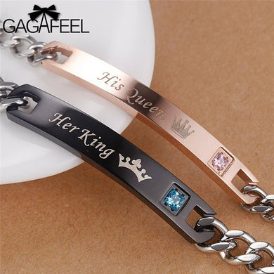 Valentine King and Queen Bracelet