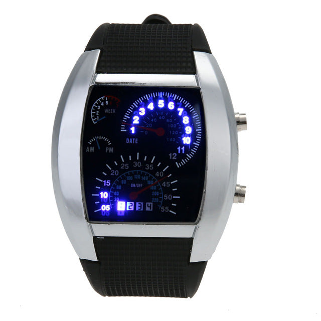 Free Speedometer Rubber Sports Watches- Just Pay Shipping