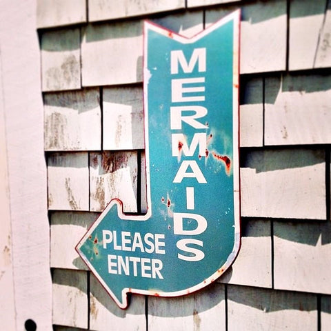 Mermaids Please Enter Sign