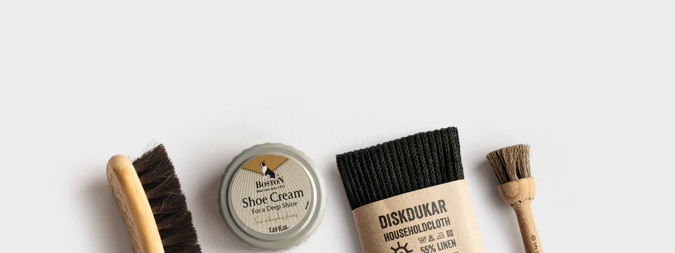 30% // Skóhirðusett / Shoe Care Box