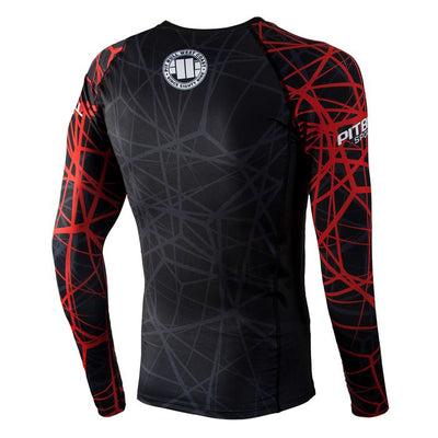 Red Ray Long Sleeve Rashguard