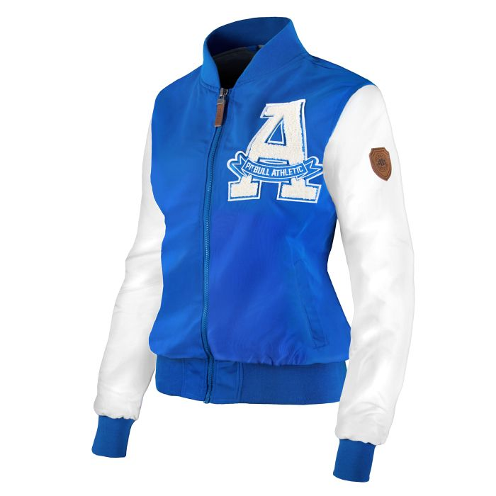 Women's Jacket SORENTO Blue - pitbullwestcoast