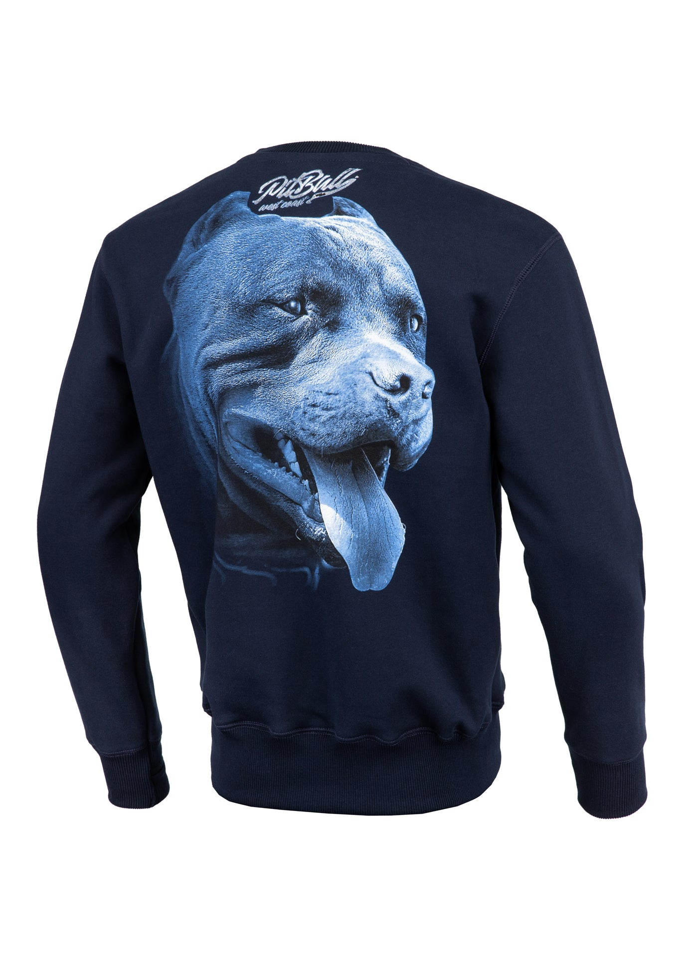 Crewneck RED NOSE II Dark Navy - Pitbull West Coast  UK Store