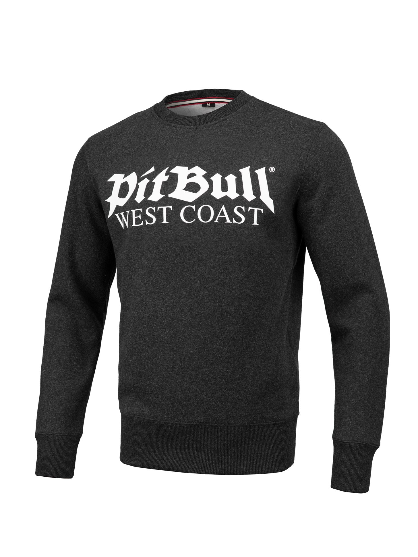 Crewneck Old Logo 2020 Charcoal Melange - pitbullwestcoast