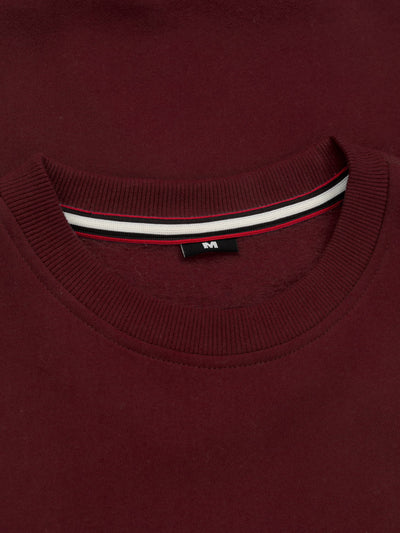 Crewneck Old Logo 19 Burgundy