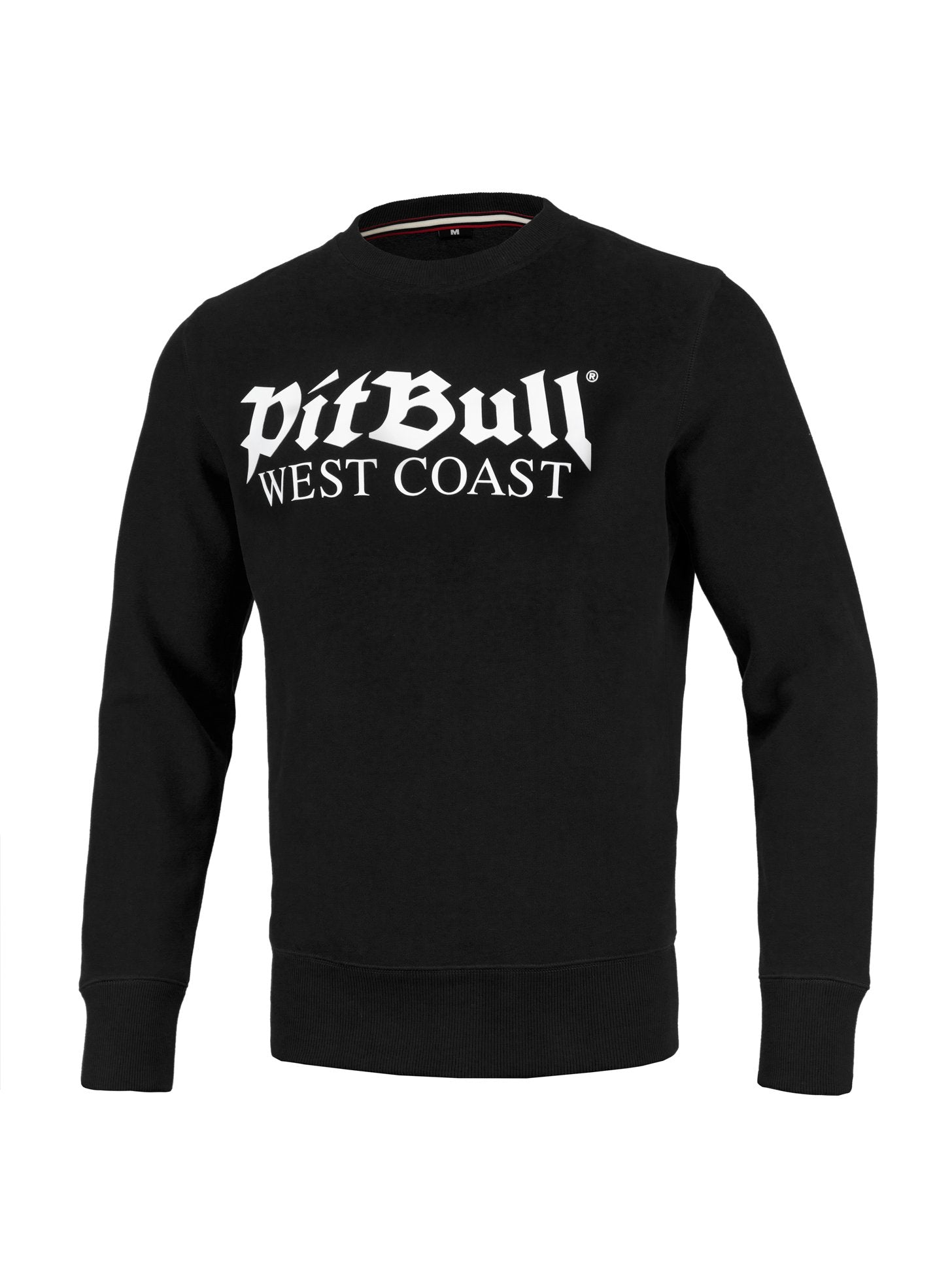 Crewneck Old Logo 19 Black - pitbullwestcoast
