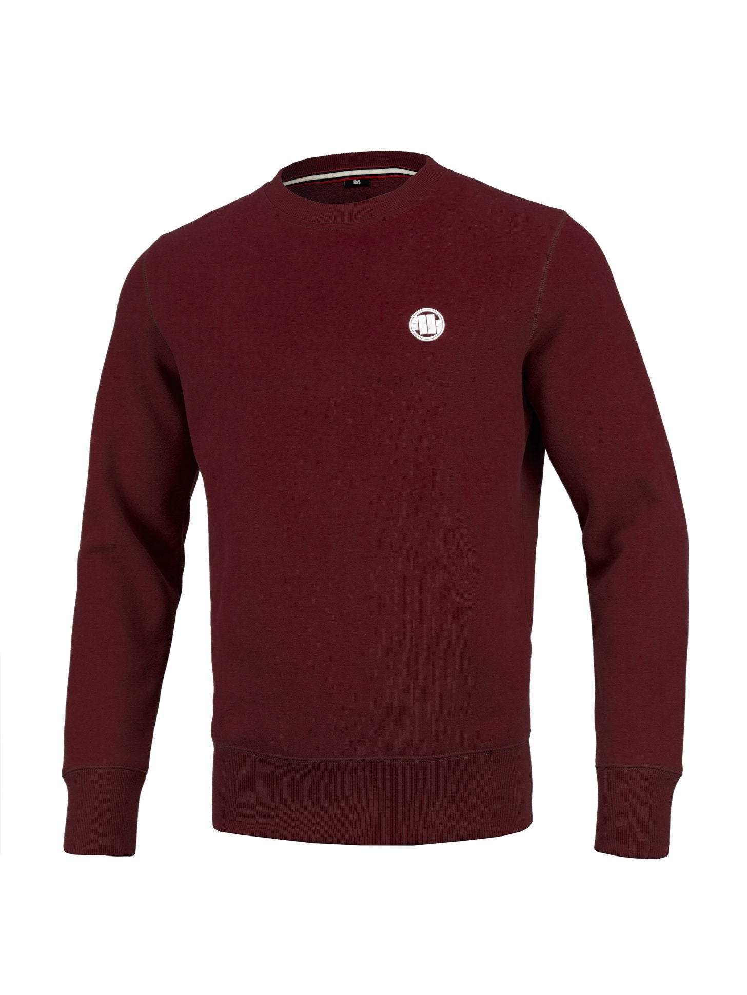 Crewneck Small Logo Burgundy